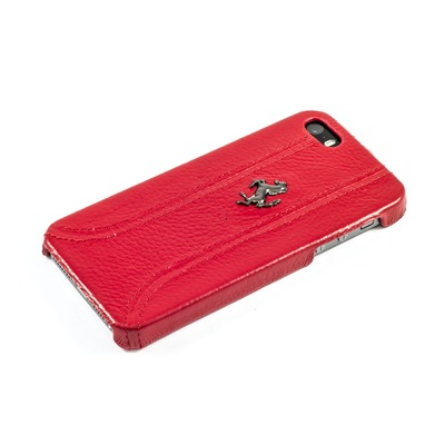 Задняя накладка Ferrari Hard Case FF Collection для Apple iPhone 5/5S