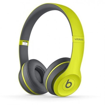 Beats Solo 2 Wireless Shock Yellow Active Collection