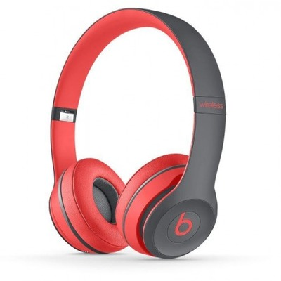 Beats Solo 2 Wireless Siren Red Active Collection
