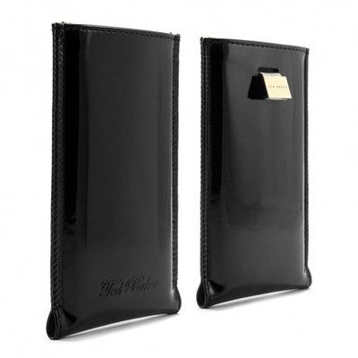 Чехол футляр Ted Baker iPhone Patent Pouch - for iPhone 5 / 5S / 5C - Black