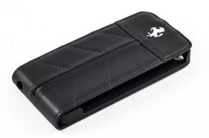 Чехол футляр-книга Ferrari California Collection Flip Case для Apple iPhone 5/5S