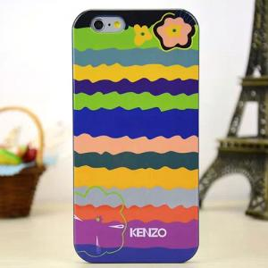 Задняя накладка Kenzo Series iPhone 6 TPU Case - Sea Of Flowers