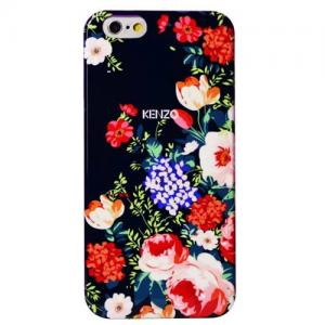 Задняя накладка High Quality Kenzo Series iPhone 6 Case - Pink Flowers